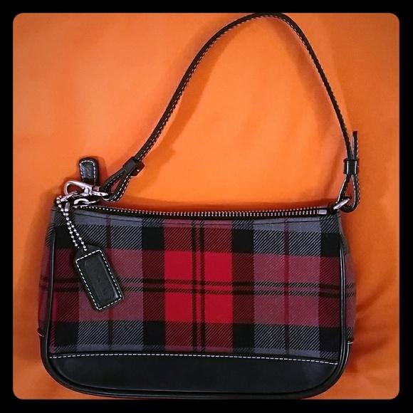 Coach Christmas theme small handbag #6751